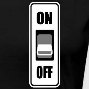 On Off switch - Women's Premium T-Shirt