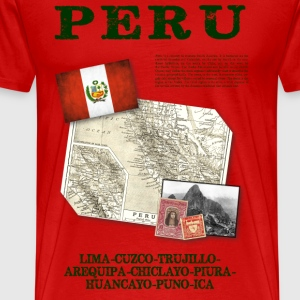 Peru - World Tour Expedition - T-shirt Premium Homme