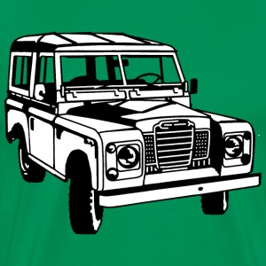 LR Landie Series illustration - Autonaut.com - Men's Premium T-Shirt