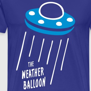 The Weather Balloon - Men's Premium T-Shirt