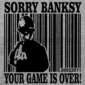 banksy is game over - Men's Premium T-Shirt