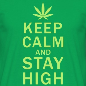 Stay High! - T-shirt herr