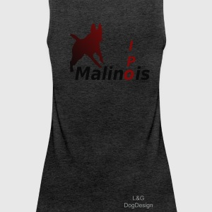 IPO Malinois Damen Top - Frauen Premium Tank Top