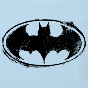 Batman Logo black retro - Kinder Bio-T-Shirt