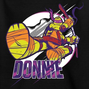 TMNT Turtles Donnie With Bo Staff - Nuorten t-paita