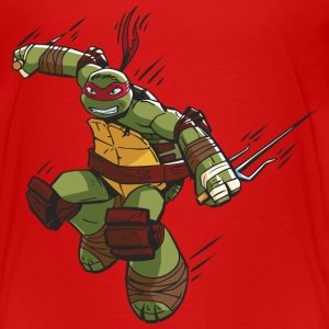 TMNT Turtles Raphael Ready For Action - Premium-T-shirt tonåring