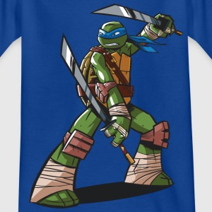 TMNT Turtles Leonardo Ready For Action - Maglietta per ragazzi