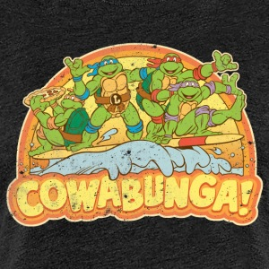 TMNT Teenage Mutant Surfing Turtles - Naisten premium t-paita