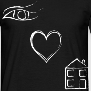 Eye Luv House - Men's T-Shirt