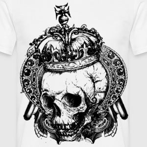 Royal Dead Skull T-shirt Design - Men's T-Shirt