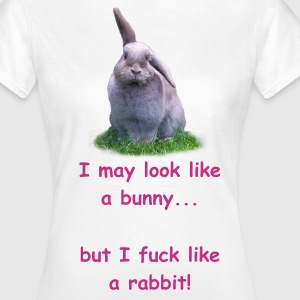 Bunny or Rabbit - Vrouwen T-shirt