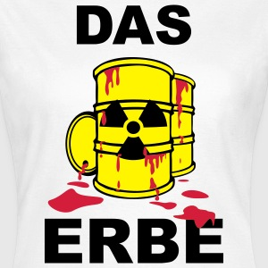 T-Shirt Frau Das Erbe rot© by kally ART®  - Frauen T-Shirt