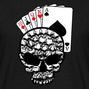 poker head  - Männer T-Shirt