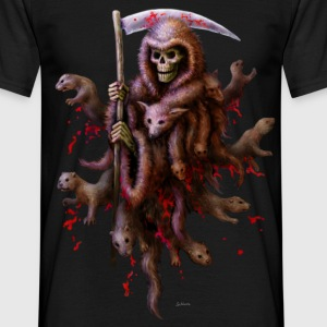 Death loves Fur - Männer T-Shirt