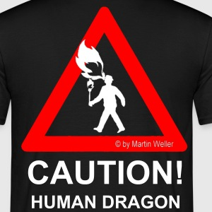 Dragon T-Shirt & NAME - Männer T-Shirt