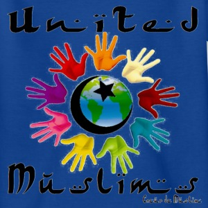 Basic enfant  United muslims bleu - T-shirt Ado