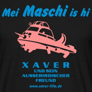 Mei Maschi is hi - Männer T-Shirt