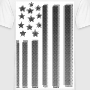 MCHARDY USA FLAG ONE - Männer T-Shirt