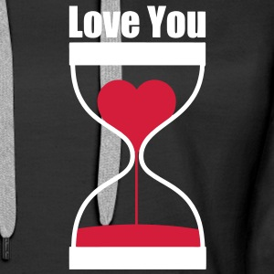 love you Pullover - Frauen Premium Hoodie
