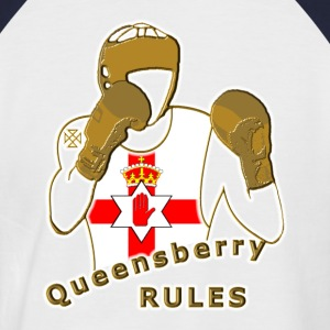 queensberry boxing northern ireland T-Shirts - Men's Baseball T-Shirt