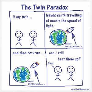 Twin Paradox - Teenage T-shirt