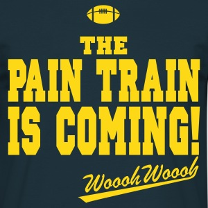 Navy Pain Train T-Shirt - Männer T-Shirt