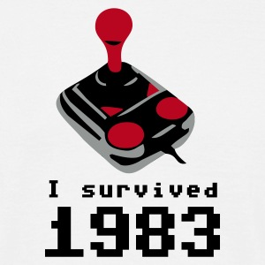 I survived 1983. - Männer T-Shirt