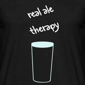 real ale therapy - Men's T-Shirt