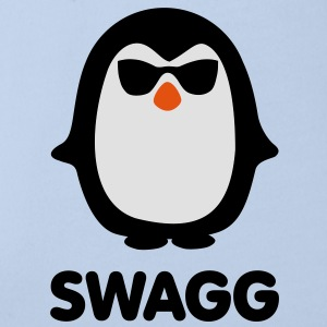 SWAGG pinguin Accessoires - Baby Bio-Kurzarm-Body