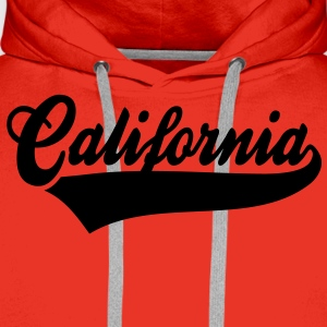 California T-Shirt WR - Men's Premium Hoodie