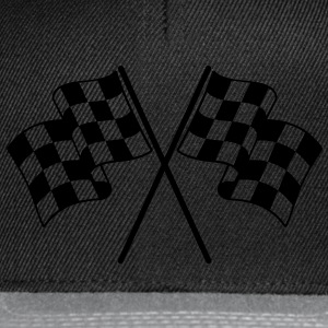 Checkered Flags T-Shirts - Snapback Cap