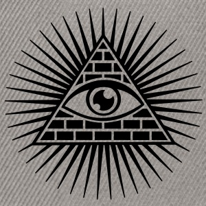 all seeing eye -  eye of god / pyramid - symbol of Omniscience & Supreme Being Sweat-shirts - Casquette snapback