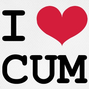 I Love Cum [Porn / Sex] T-Shirts - Baseball Cap