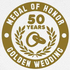 MEDAL OF HONOR 50th GOLDEN WEDDING T-Shirt - Baseball Cap