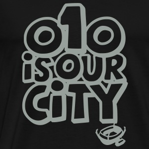 010 IS OUR CITY Hoodies & Sweatshirts - Men's Premium T-Shirt