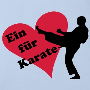 i love Karate - Baby Bio-Kurzarm-Body