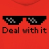 Deal With It Pullover & Hoodies - Kinder Premium Hoodie