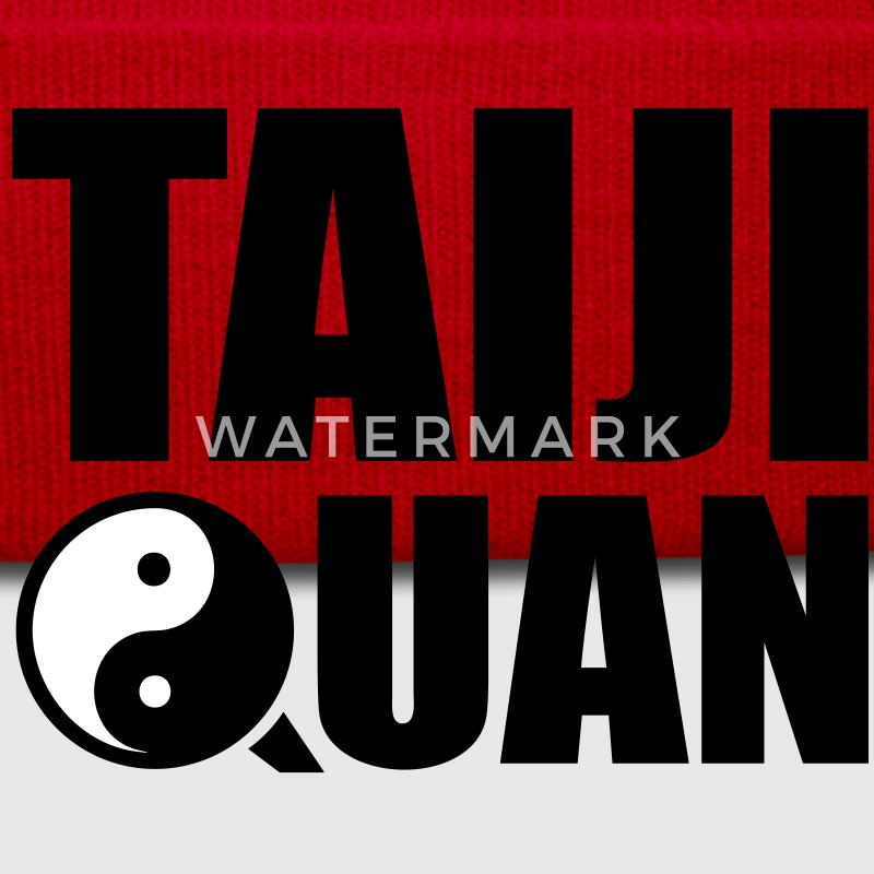 Taiji Quan - Yin Yang symbol - martial arts Caps & Hats - Winter Hat