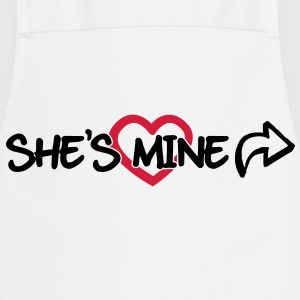 She's mine T-Shirts - Cooking Apron
