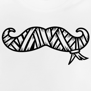 A wrapped mustache Accessories - Baby T-Shirt