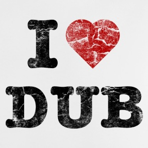 I Love DUB vintage dark Accessories - Baby T-shirt