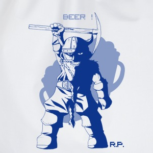 Beer ! RolePlay (Blue) T-Shirts - Drawstring Bag