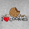 I love cookies Caps & Hats - Men's Vintage T-Shirt