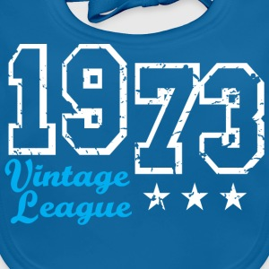Vintage League 1973 Birthday Design T-Shirt - Baby biosmekke
