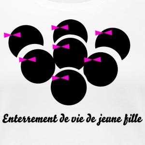 t shirt evjf enterrement de vie de jeune fille spreadshirt. Black Bedroom Furniture Sets. Home Design Ideas