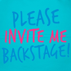 please invite me backstage! VIP CONCERT Tee Accessories - Baby Cap