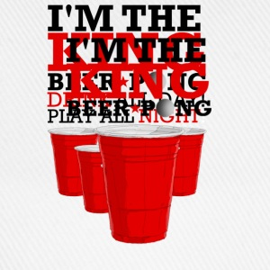 king beer pong Tee shirts - Casquette classique