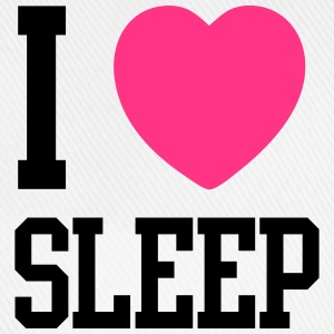 I HEART SLEEP T-Shirts - Baseballkappe