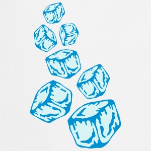 Ice Cubes Design T-shirts - Keukenschort