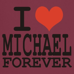 Rose i love michael forever T-shirts - Tablier de cuisine